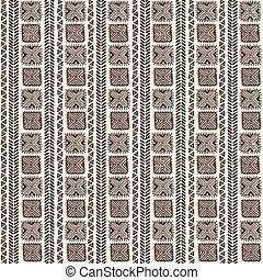 Tribal vintage ethnic pattern seamless