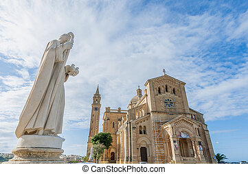 Ta Pinu church near Gharb in Gozo, Malta - The National...