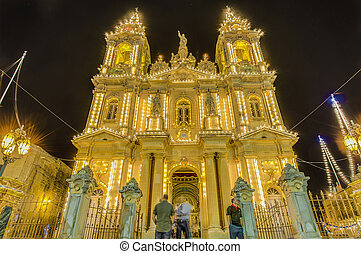 Assumption Church in Gudja, Malta - Assumption Parish Church...