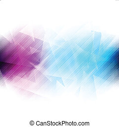 Colourful iridescent vector background - Colourful light...