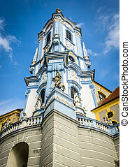 Duerstein - Famous blue tower in collegiate church of...