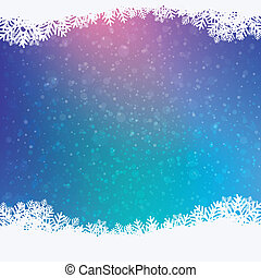 winter snowy background