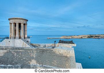 Great Siege Memorial in Valletta, Malta - Great Siege Bell...
