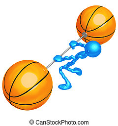 Basketball Weight Training - 3D Concept And Presentation...