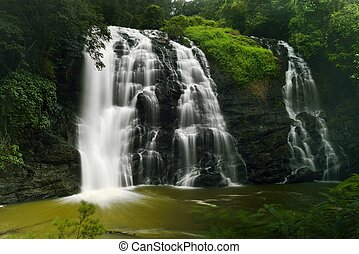 Abbey Falls - Abbey falls in the coorg region of KArnataka...