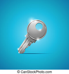 Key. Security concept.