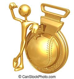 Gold Medal Baseball Winner