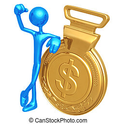 Gold Medal Dollar Winner - 3D Concept And Presentation...