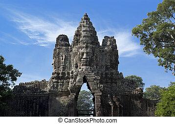 Bayon, Cambodia - Angkor Thom, Bayon, Cambodia
