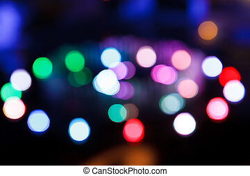 Light bokeh blur