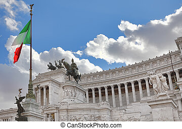 Victor Emmanuel II Monument Rome, Italy - Famous Victor...