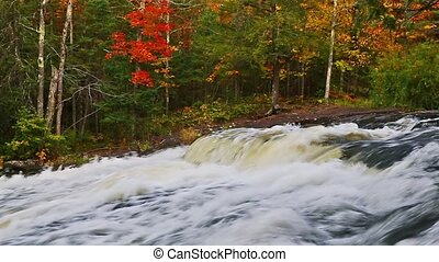 Fall Cascade Loop - Loop features whitewater cascading over...