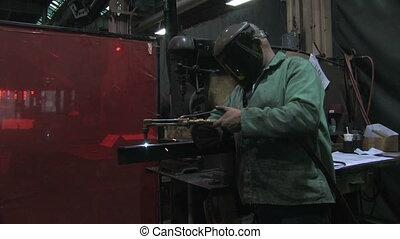 Man Using Blowtorch 3