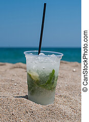 Mojito on the beach