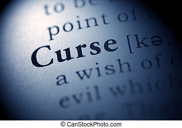 Curse - Fake Dictionary, Dictionary definition of the word...
