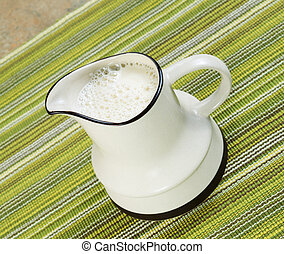 Pitcher of Soy Milk