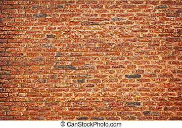 Indian architecture - old brick background - Background - a...