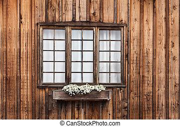 fenêtre, cabine