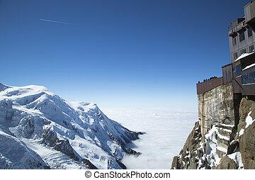 Chamonix terrace, Aiguille du Midi