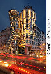 Dancing house - Prague - Dancing house in Prague Czech...