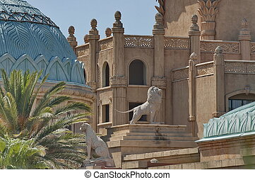 Fragment of Palace hotel - Fragment of Palace of the Lost...