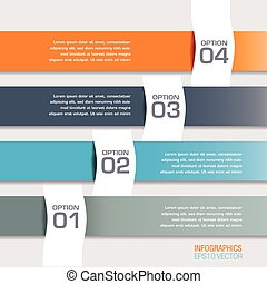 Modern Infographics Options Banners