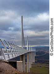 Millau Bridge - The Millau Viaduct is a motorway bridge...