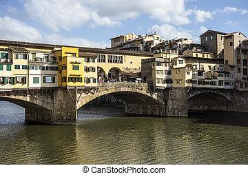 Ponte Vecchio (Old Bridge) in Florence,Italy