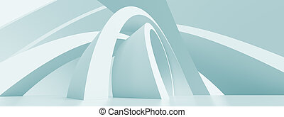 Panoramic Architecture Background