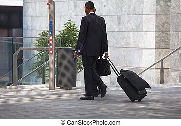 Businessmen - MILAN, ITALY - SEPTEMBER 20: Two Businessmen...