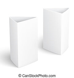 Blank paper vertical triangle cards. - Blank paper vertical...