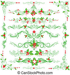 Christmas Decoration - easy to edit vector illustration of...
