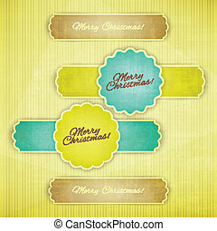 mc grunge - new set of paper banners with grunge texture can...