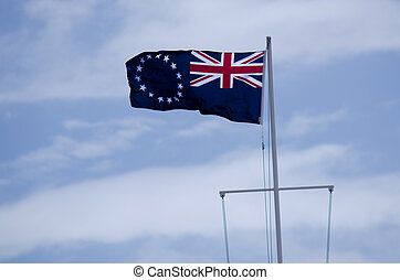 Flag of the Cook Islands - The Cook Islands national flag...