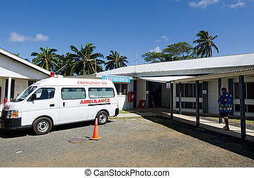 Cook Island Hospital  in Rarotonga Cook Islands