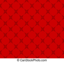 quilted fabric - red pattern seamless - quilted fabric