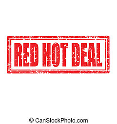 Red Hot Deal-stamp