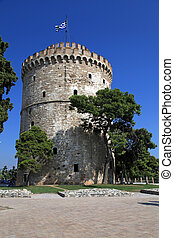 White Tower,Thessaloniki, Greece - White Tower - the symbol...