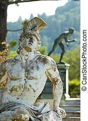 Statue of Achilles Corfu Greece