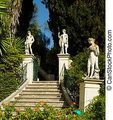 Achillion Palace on the island of Corfu - Classical inspired...