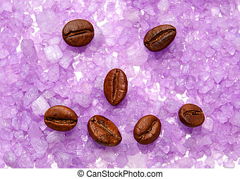 Physiognomy from coffee grains. - Physiognomy from coffee...