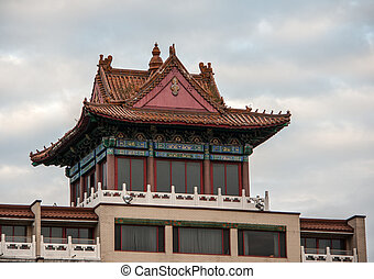 Chinatown Montreal - The structure that is a symbol of...