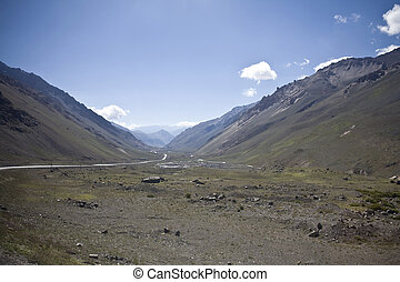Andes - The Andes form the world\'s longest exposed mountain...