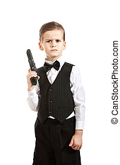 Boy with a weapon