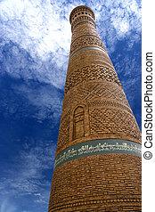 Kalyan Minaret Uzbekistan - Image of Kalyan Minaret,...