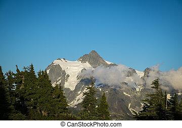 Mt Shuksan, Washington state Cascades - Beautiful Mt...