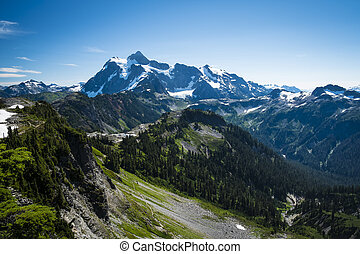 Mt Shuksan, Washington state Cascades - Beautiful Mt...