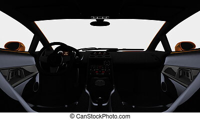 driver's seat  - image of driver's seat