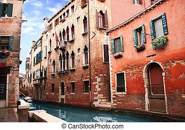 Venice street, Italy