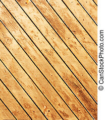 Texture of old wooden boards - Texture - old wooden boards...
